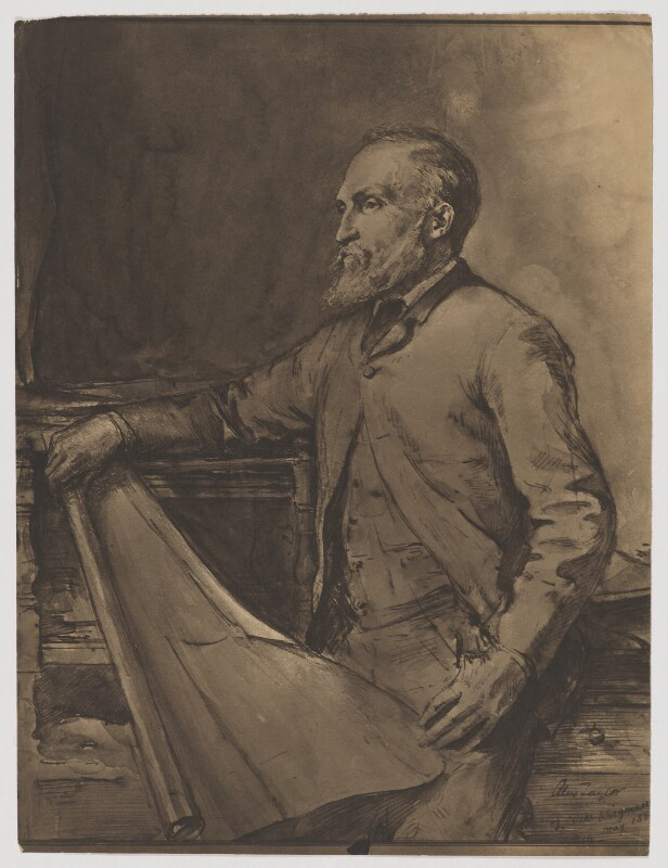 Alexander Taylor, after Theodore Blake Wirgman, (1880s) - NPG D40834 - © National Portrait Gallery, London
