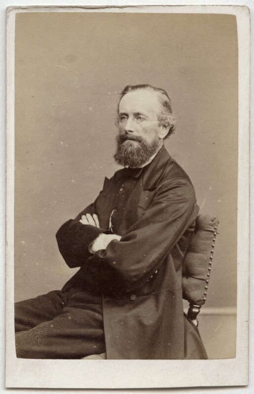 Sir Edward Frankland, by Henry Joseph Whitlock, 1860s - NPG x134790 - © National Portrait Gallery, London