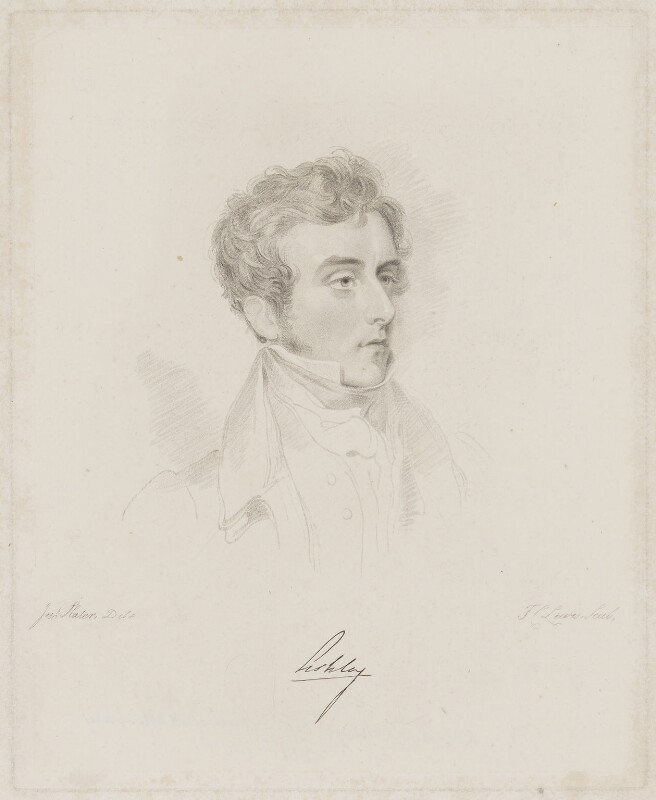 Anthony Ashley-Cooper, 7th Earl of Shaftesbury, by Frederick Christian Lewis Sr, after  Joseph Slater, 1826 or after - NPG D40663 - © National Portrait Gallery, London