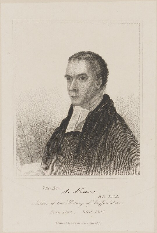 Stebbing Shaw, published by Nichols & Son, published January 1844 - NPG D40681 - © National Portrait Gallery, London
