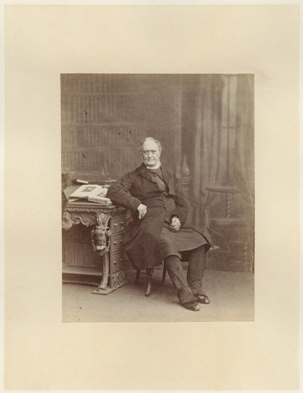 (Newell) Connop Thirlwall, by Ernest Edwards, published 1864 - NPG x12967 - © National Portrait Gallery, London