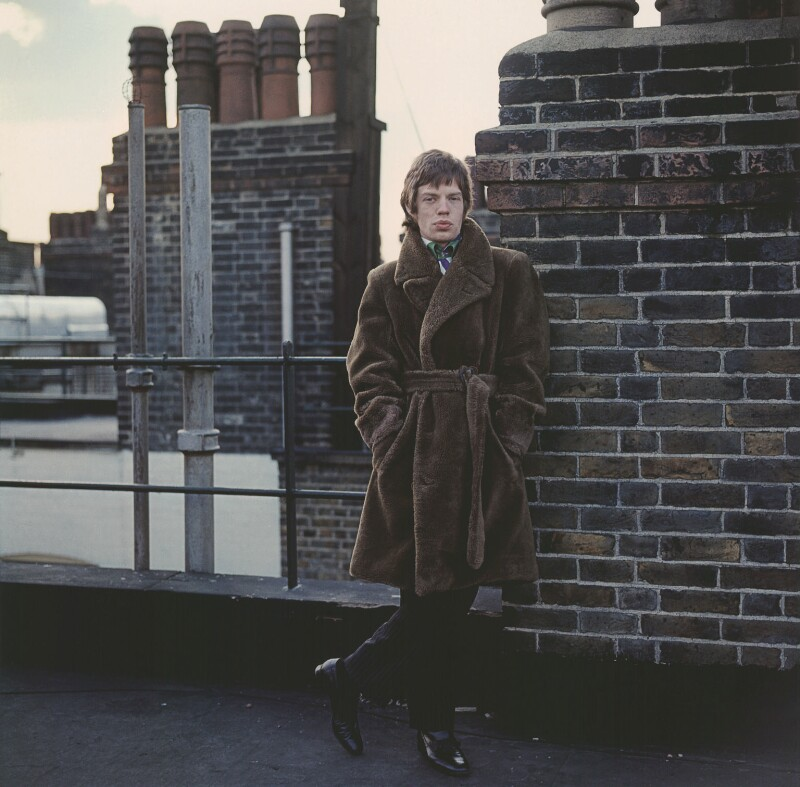 Mick Jagger, by Gered Mankowitz, 1966 - NPG x134832 - Photograph by Gered Mankowitz © Bowstir Ltd 2018 / mankowitz.com