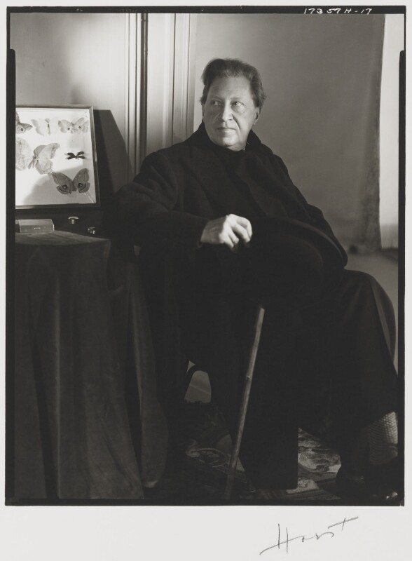 Sir Osbert Sitwell, by Horst P. Horst, 1948 - NPG P1662 - © Horst