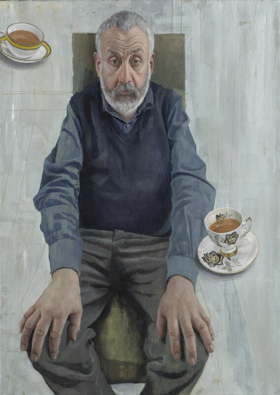 Mike Leigh, by Stuart Pearson Wright, 2003 - NPG 6926 - © National Portrait Gallery, London
