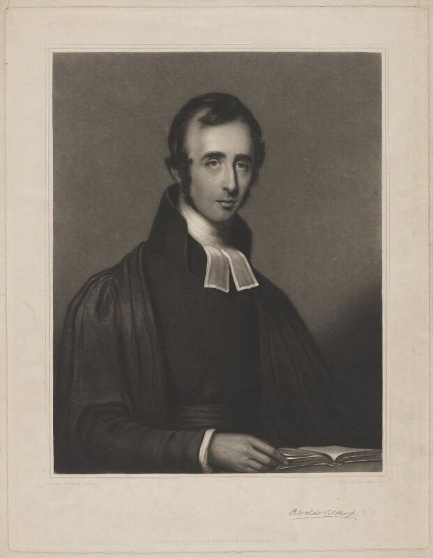 Richard Waldo Sibthorp, by James Scott, published by and after  Edward Turtle, published 19 August 1839 - NPG D41668 - © National Portrait Gallery, London
