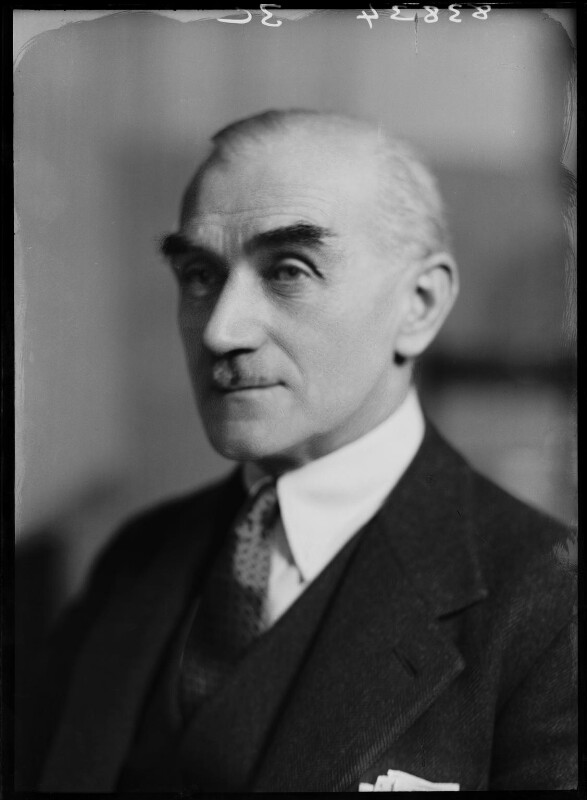 Sir (Percy) John Luxton Kelland, by Bassano Ltd, 13 January 1938 - NPG x155208 - © National Portrait Gallery, London