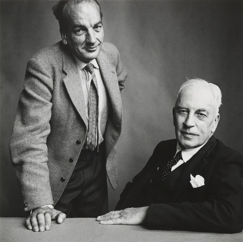Arnold Joseph Toynbee; Philip Toynbee, by Irving Penn, 1958 - NPG P1399 - Copyright by Condé Nast Publications, Inc.