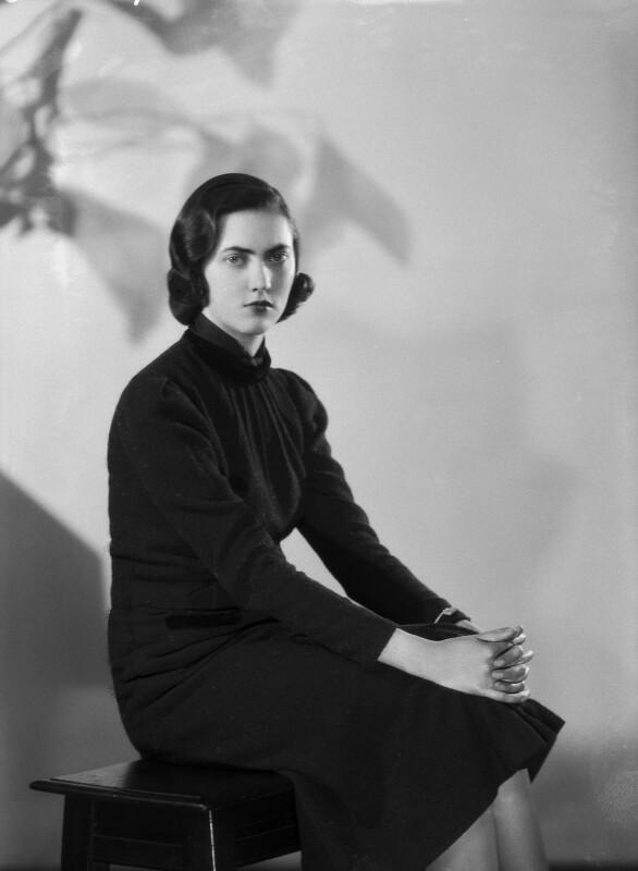 Lady Cynthia Rosalie Postan (née Keppel), by Bassano Ltd, 21 April 1938 - NPG x155414 - © National Portrait Gallery, London