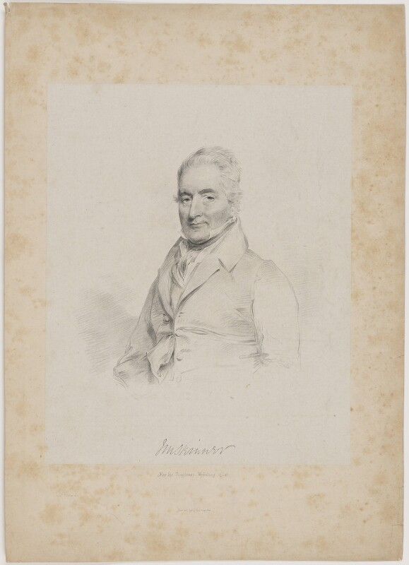 J.M. Skinner, by Isaac Ware Slater, printed by  Charles Joseph Hullmandel, after  Joseph Slater, early 19th century - NPG D41719 - © National Portrait Gallery, London