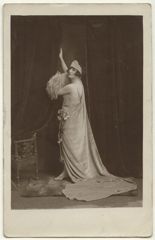Unknown woman, by Unknown photographer, circa 1920 - NPG Ax160213 - © National Portrait Gallery, London