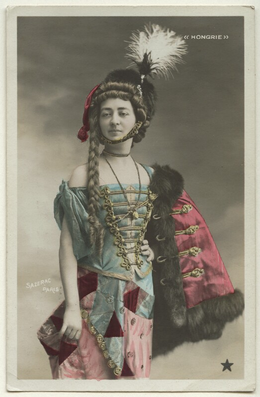 'Hongrie', by and published by Sazerac, Paris, circa 1906 - NPG Ax160219 - © National Portrait Gallery, London