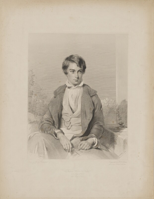 Frederick Cooke Smith, by Frederick Christian Lewis Sr, after  George Richmond, early 19th century - NPG D41747 - © National Portrait Gallery, London