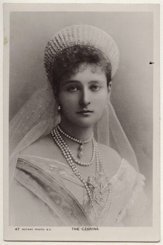 Alexandra, Empress of Russia (née Princess Alix of Hesse and by Rhine), published by Rotary Photographic Co Ltd, 1900s-1910s - NPG x131647 - © National Portrait Gallery, London