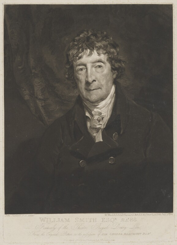 William ('Gentleman') Smith, by William Ward, published by and after  John Jackson, published 8 April 1819 (circa 1819) - NPG D41774 - © National Portrait Gallery, London