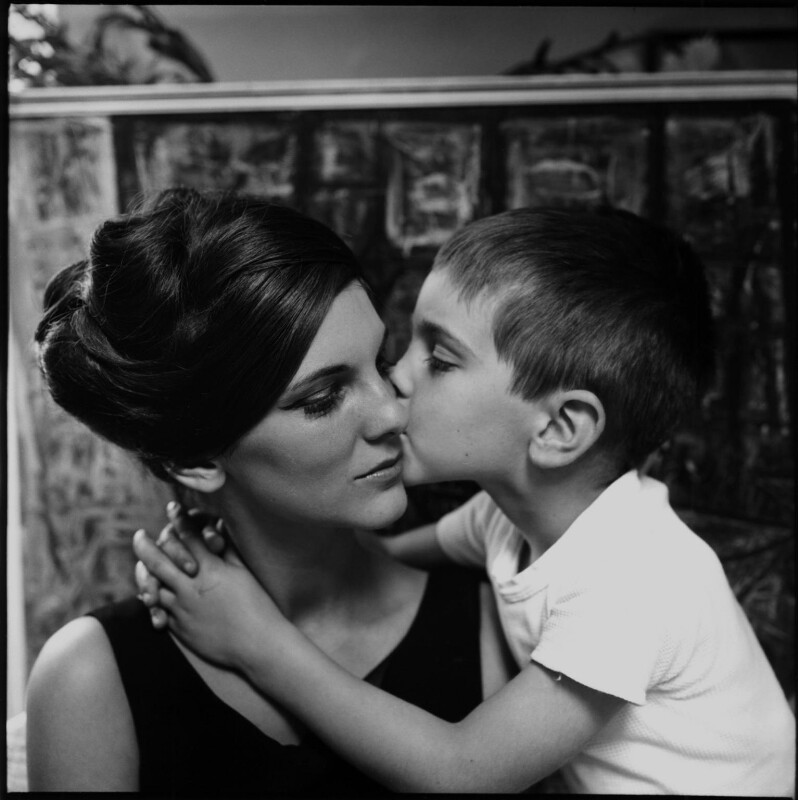 Diana Melly (née Dawson); Patrick Ashe, by Ida Kar, 1960 - NPG x134900 - © National Portrait Gallery, London