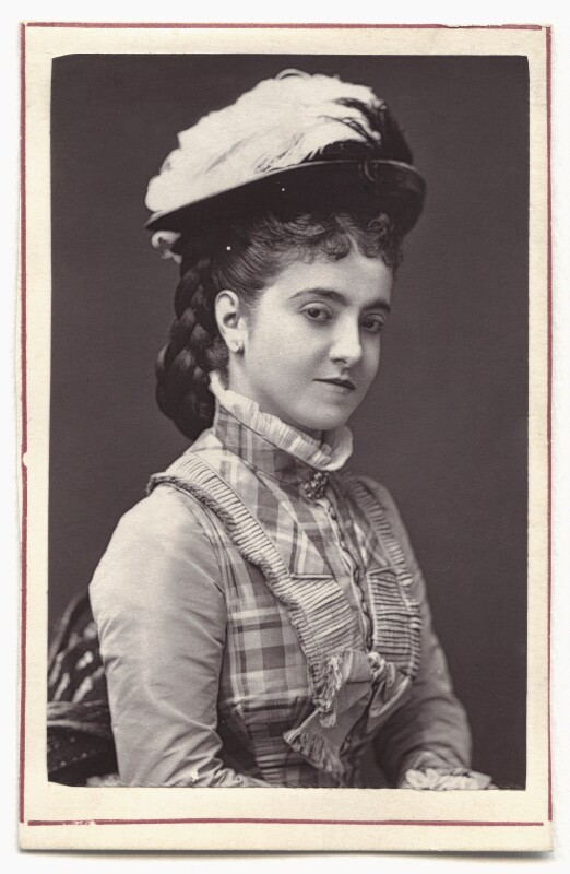Adelina Patti, by Unknown photographer, 1870s - NPG Ax7610 - © National Portrait Gallery, London