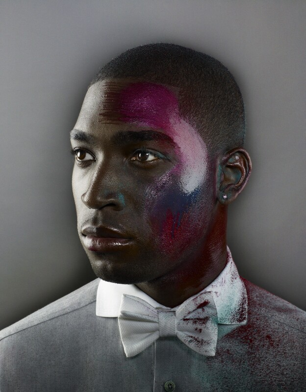 Tinie Tempah, by Nadav Kander, 2011 - NPG x134919 - © Nadav Kander; courtesy Flowers Galleries