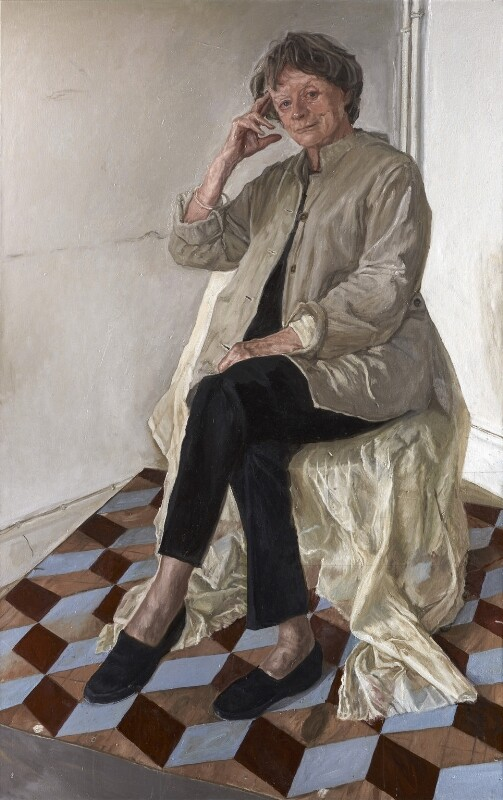 Maggie Smith, by James Lloyd, 2012 - NPG 6955 - © National Portrait Gallery, London