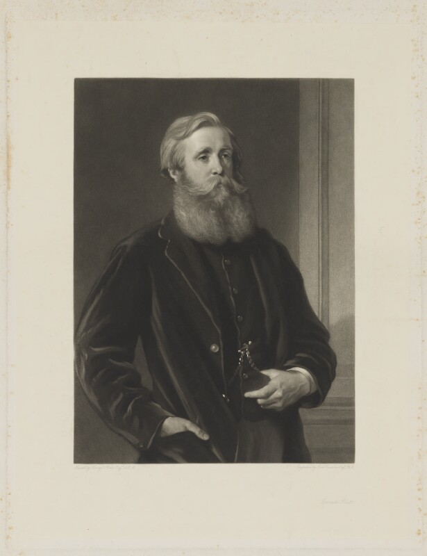 John Poyntz Spencer, 5th Earl Spencer, by Samuel Cousins, after  Henry Tanworth Wells, mid 19th century - NPG D42010 - © National Portrait Gallery, London