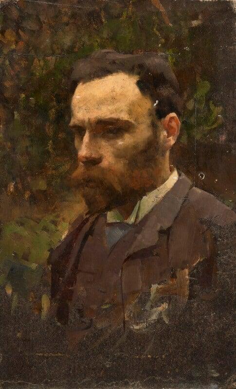 John William Waterhouse, by William Logsdail, circa 1887 - NPG 6920 - © Bridgeman Art Library www.bridgemanart.com