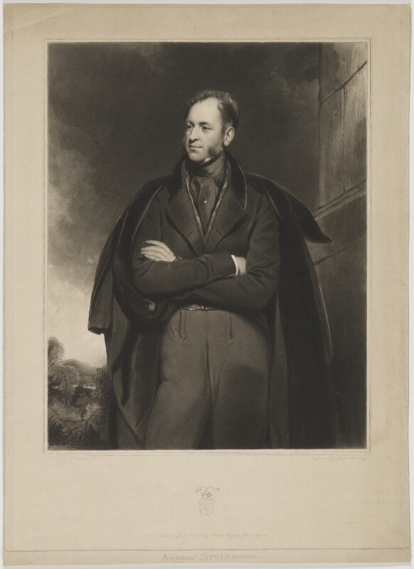 Andrew Spottiswoode, by James Bromley, printed by  Lahee & Co, published by  Thomas Boys, after  Thomas Phillips, published 28 June 1838 - NPG D42040 - © National Portrait Gallery, London