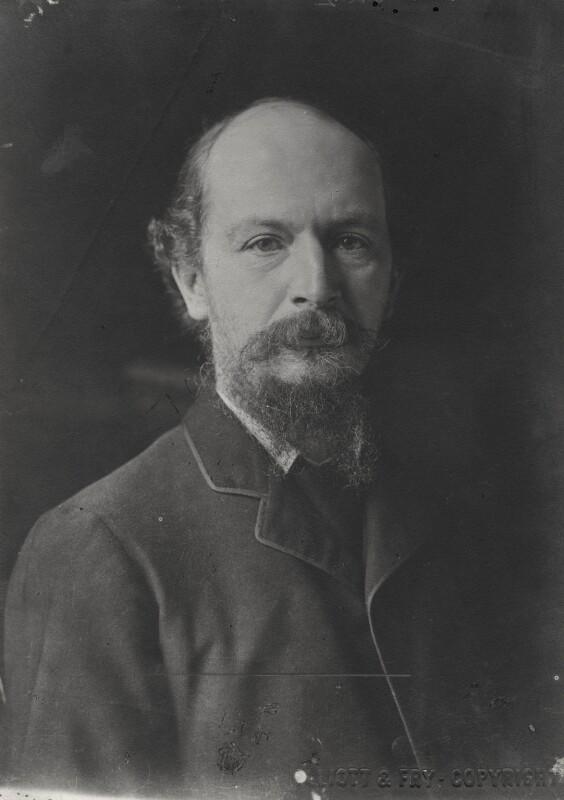 Algernon Charles Swinburne, by John McLanachan, for  Elliott & Fry, published 1909 (circa 1894) - NPG x134953 - © National Portrait Gallery, London