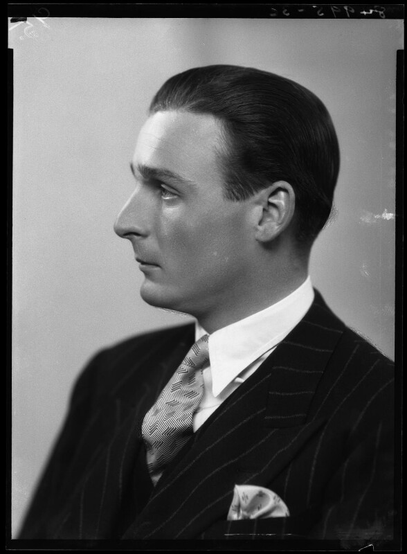 Sir Hanmer Cecil Hanbury, by Bassano Ltd, 29 October 1938 - NPG x155861 - © National Portrait Gallery, London