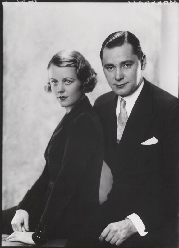 Edna Best; Herbert Marshall, by Paul Tanqueray, 1931 - NPG x180193 - © estate of Paul Tanqueray