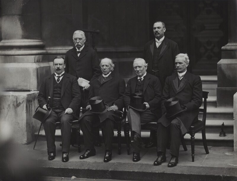 The Sixth Imperial Conference, by W. & D. Downey, 1911 - NPG x134960 - © National Portrait Gallery, London