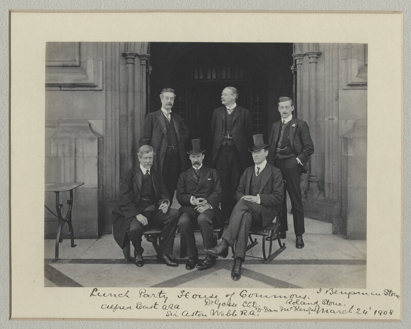 'Lunch Party, House of Commons', by Benjamin Stone, 24 March 1908 - NPG x135009 - © National Portrait Gallery, London