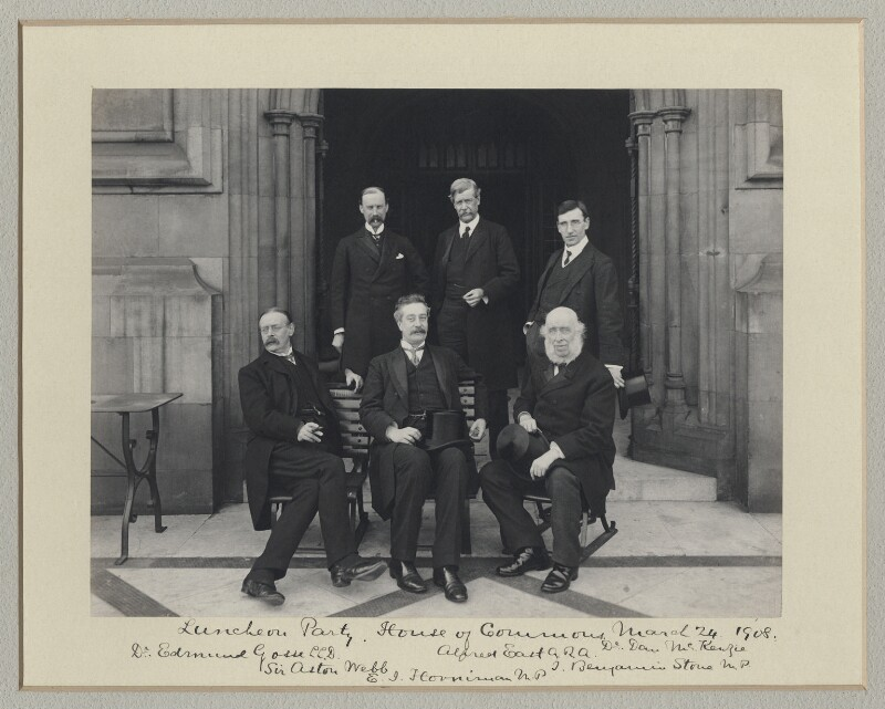 'Luncheon Party, House of Commons', by Benjamin Stone, 24 March 1908 - NPG x135010 - © National Portrait Gallery, London