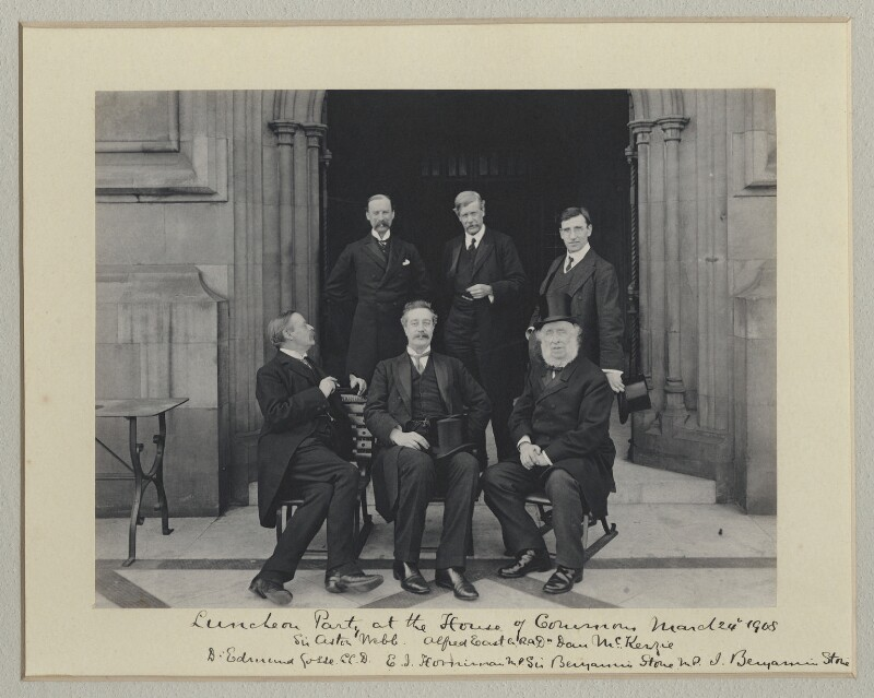 'Luncheon Party at the House of Commons', by Sir (John) Benjamin Stone, 24 March 1908 - NPG x135011 - © National Portrait Gallery, London