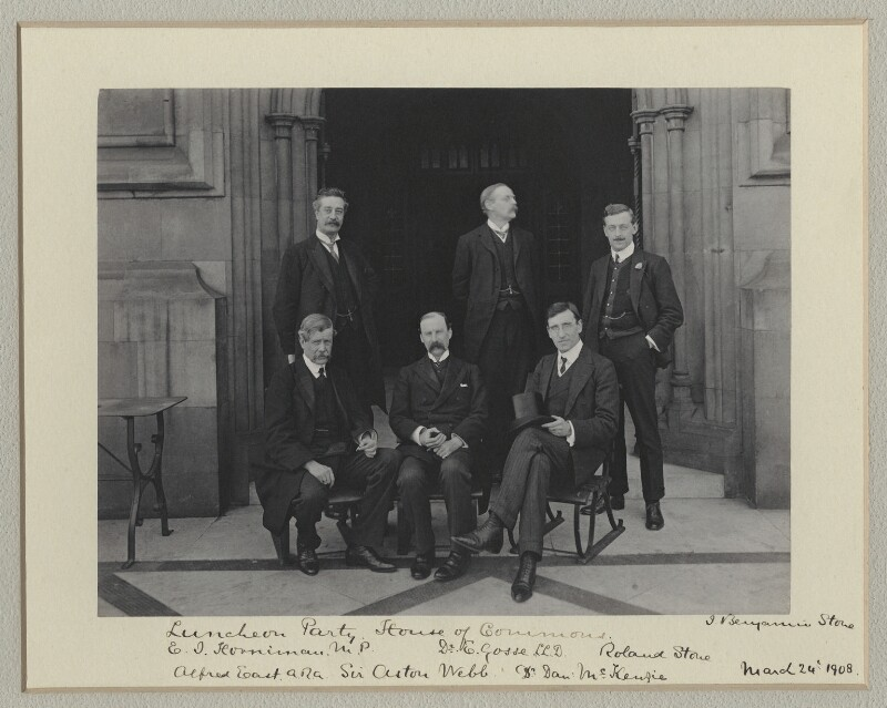 'Luncheon Party, House of Commons', by Sir (John) Benjamin Stone, 24 March 1908 - NPG x135012 - © National Portrait Gallery, London
