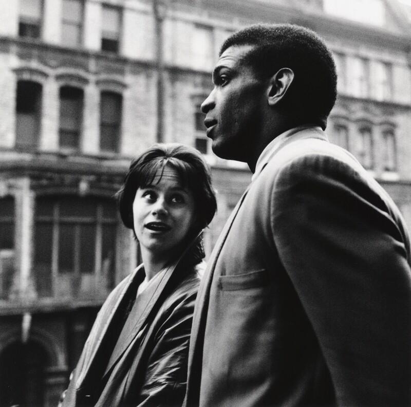 Rita Tushingham; Paul Danquah, by Sandra Lousada, 1961 - NPG x135067 - © Sandra Lousada