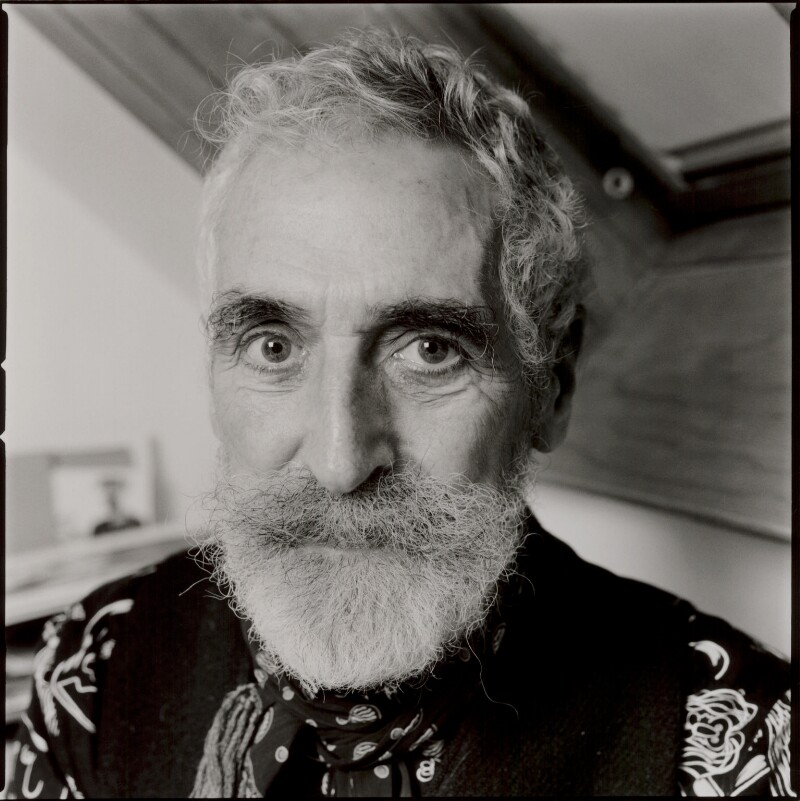 John Byrne, by Norman McBeath, 8 December 2009 - NPG x135076 - © Norman McBeath / National Portrait Gallery, London