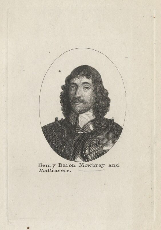 Henry Frederick Howard, 15th Earl of Arundel, 5th Earl of Surrey and 2nd Earl of Norfolk, after Wenceslaus Hollar, early 19th century - NPG D41887 - © National Portrait Gallery, London