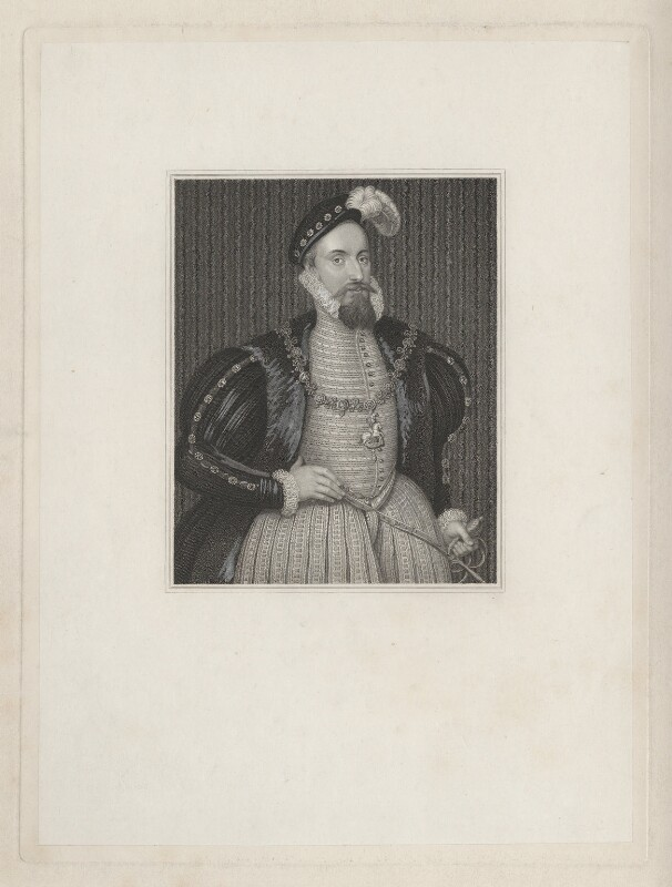 Robert Dudley, 1st Earl of Leicester, after Unknown artist, early 19th century (circa 1575) - NPG D41890 - © National Portrait Gallery, London