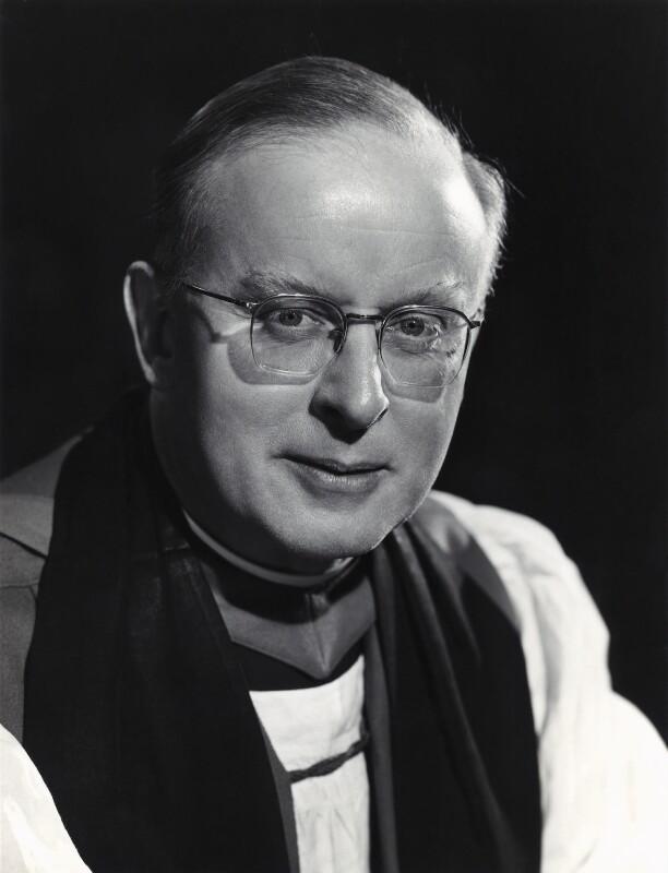 Frederick Donald Coggan, Baron Coggan, by Walter Bird, 15 March 1962 - NPG x167142 - © National Portrait Gallery, London