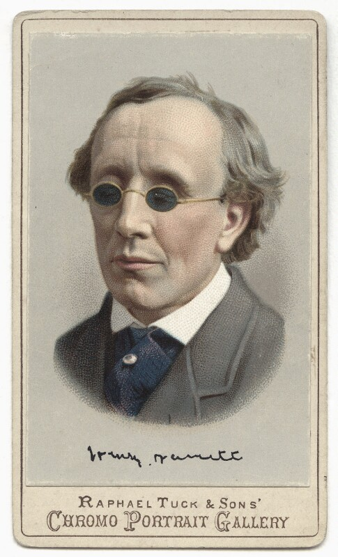 Henry Fawcett, by Raphael Tuck & Sons, after  London Stereoscopic & Photographic Company, mid-late 1880s (circa 1873) - NPG x135103 - © National Portrait Gallery, London