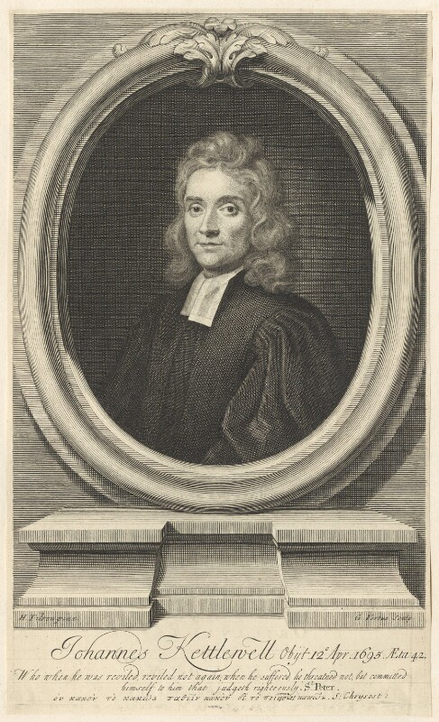 John Kettlewell, by George Vertue, after  Henry Tilson, published 1719 - NPG D42207 - © National Portrait Gallery, London
