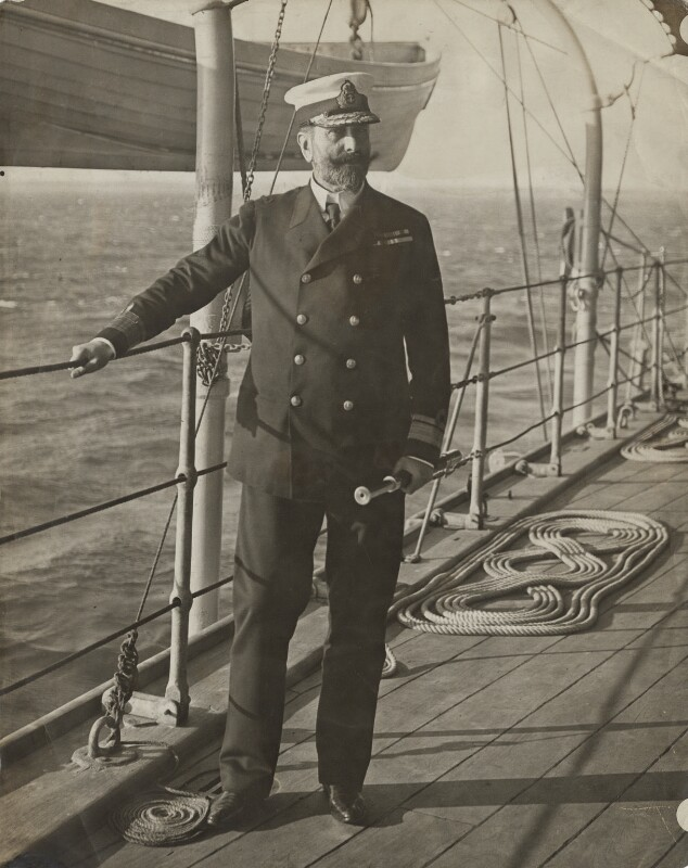 Louis Alexander Mountbatten, 1st Marquess of Milford Haven (Prince Louis of Battenburg), by Underwood & Underwood, published 1913 - NPG x134974 - © National Portrait Gallery, London
