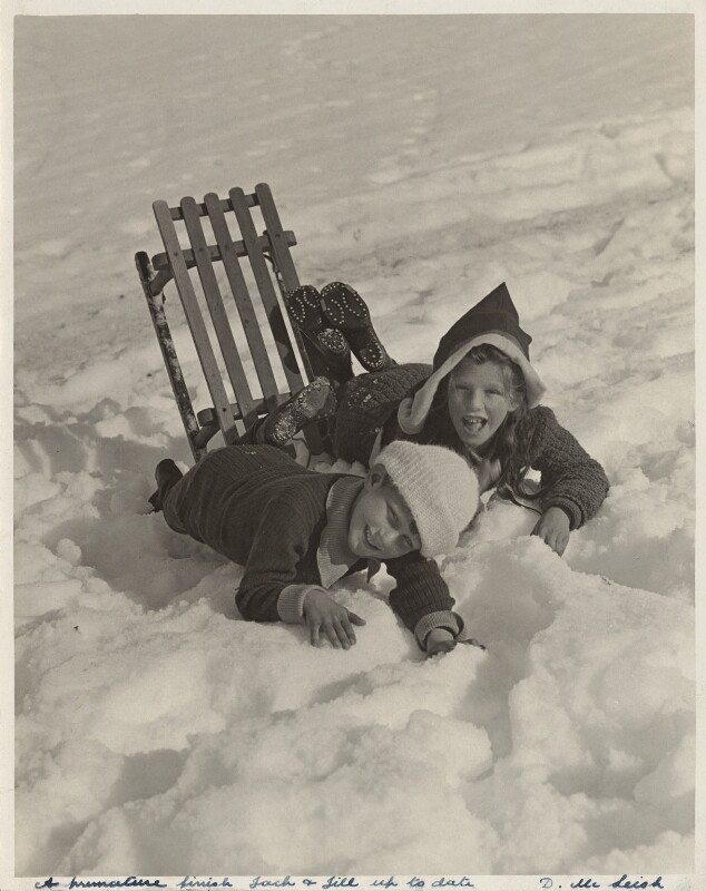 'Christmas in the Alps', by Donald McLeish, published 1913 - NPG x134980 - © National Portrait Gallery, London
