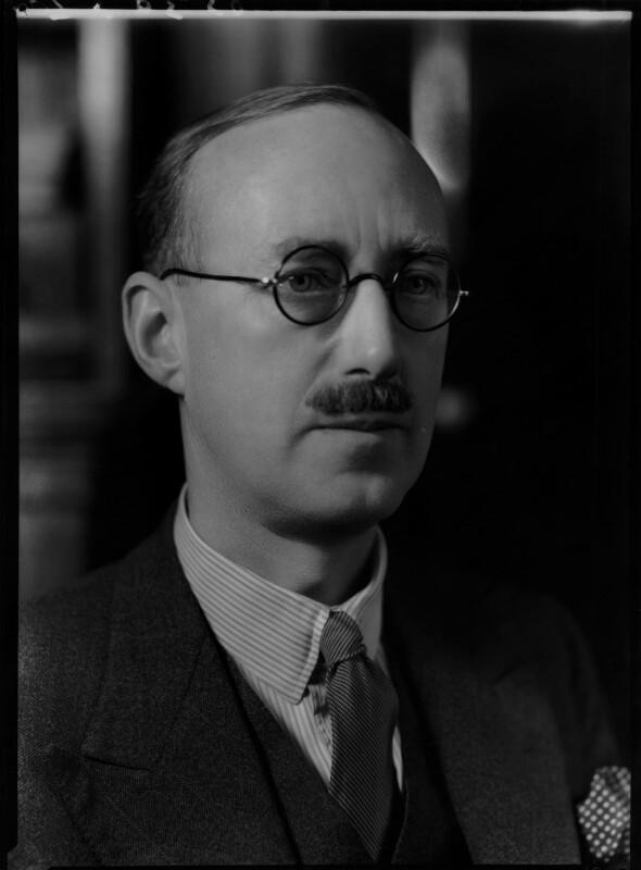 Sir (William) Robert Fraser, by Bassano Ltd, 6 January 1939 - NPG x156038 - © National Portrait Gallery, London
