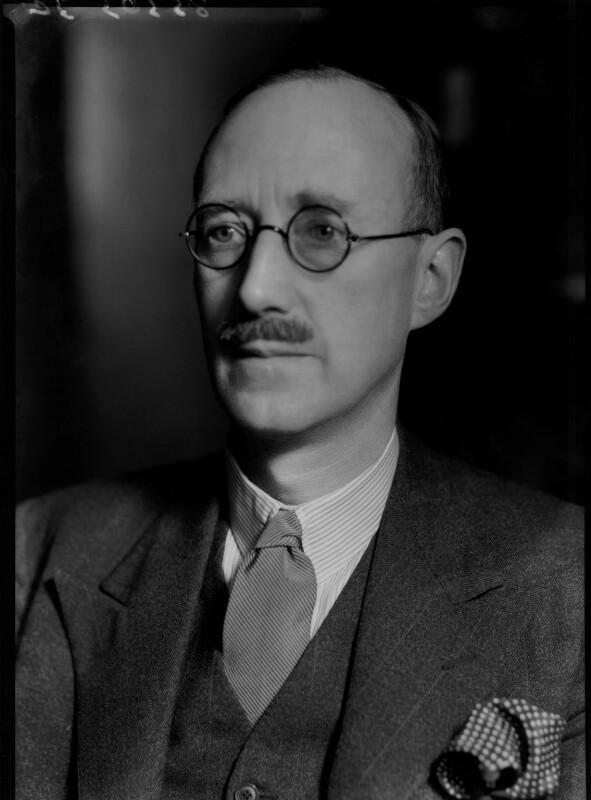Sir (William) Robert Fraser, by Bassano Ltd, 6 January 1939 - NPG x156039 - © National Portrait Gallery, London