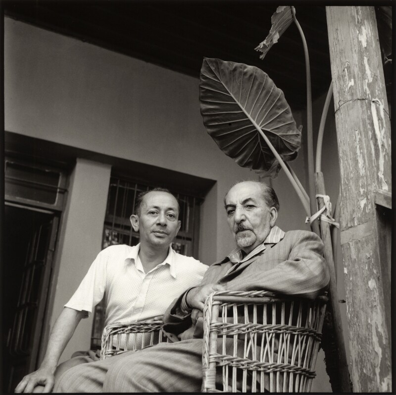 Sarkis Arutchian; Avetik Sahak Isahakyan, by Ida Kar, 1957 - NPG x135157 - © National Portrait Gallery, London