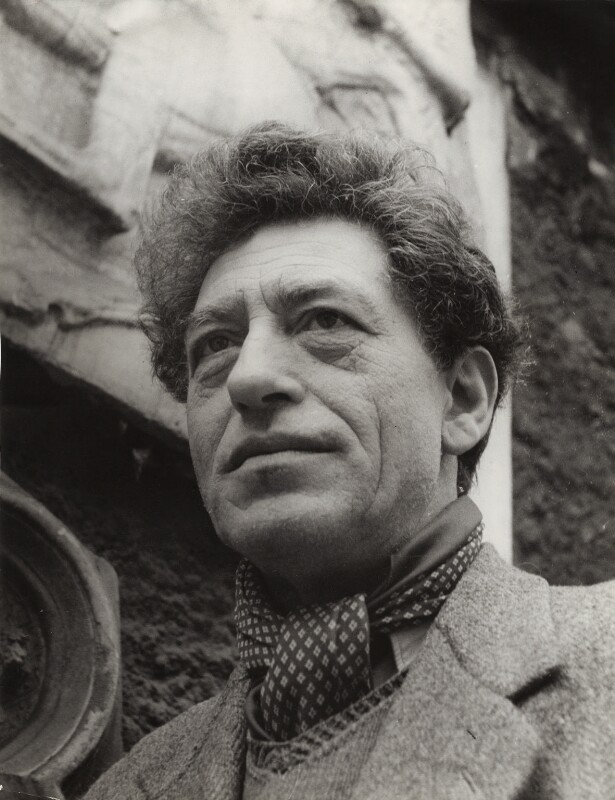 Alberto Giacometti, by Ida Kar, 1954 - NPG x135170 - © National Portrait Gallery, London