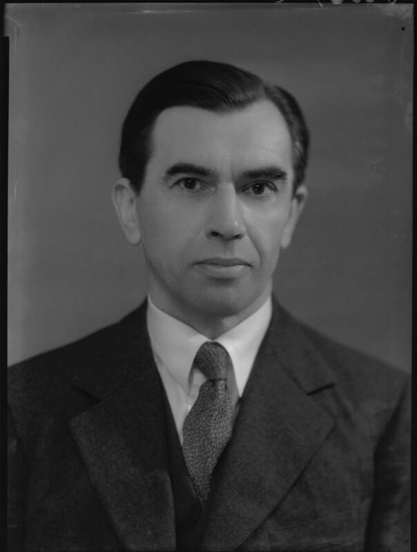 Christopher Clive Langton Gregory, by Bassano Ltd, 10 March 1939 - NPG x156139 - © National Portrait Gallery, London