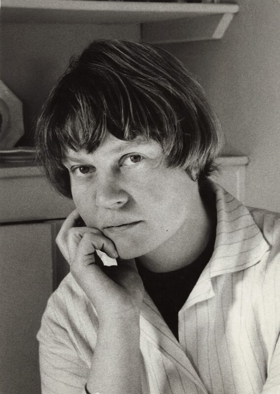 Iris Murdoch, by Ida Kar, 1957 - NPG x135179 - © National Portrait Gallery, London