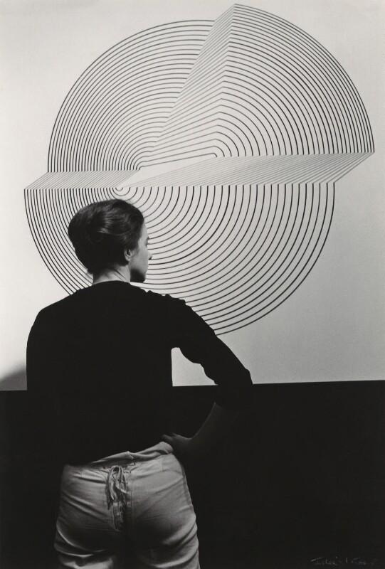 Bridget Riley, by Ida Kar, 1963 - NPG x135181 - © National Portrait Gallery, London