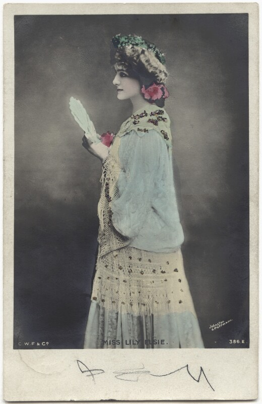 Lily Elsie (Mrs Bullough) as Soo Soo in 'A Chinese Honeymoon', published by Johnston & Hoffmann, 1903 - NPG x135283 - © National Portrait Gallery, London